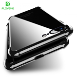 Floveme Anti-Knock 360 Degree Transparent iPhone Case
